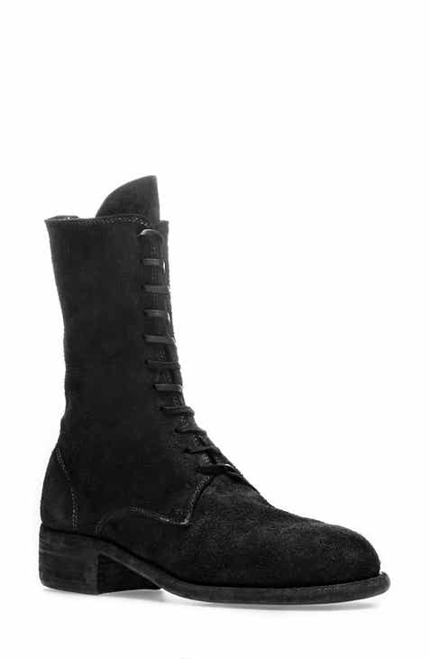 1cd94c4f2918 Guidi Lace-Up Combat Boot (Women)