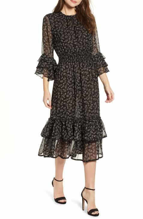 a3342a84f93 MISA Los Angeles Gordana Ruffle Dress