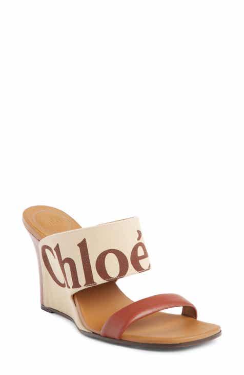 359181dabaee Chloé Verena Logo Wedge Sandal (Women)