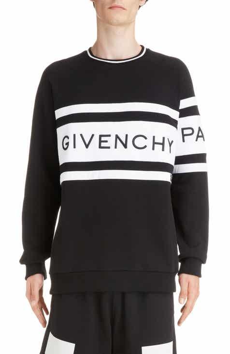 Givenchy Band Logo Longline Sweatshirt 03d2a4d37297