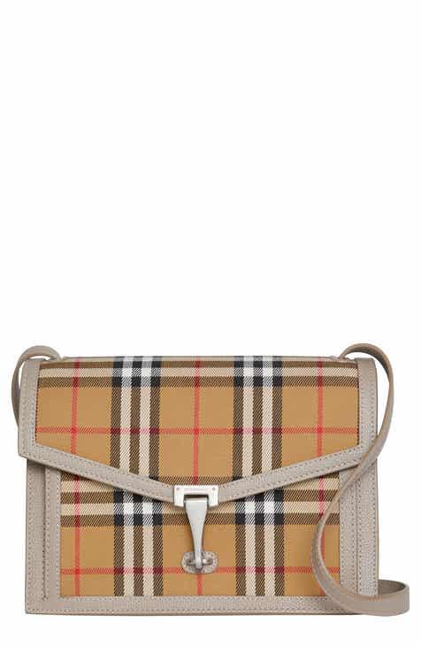 c1a44dcf4a7 Burberry Small Macken Vintage Check Crossbody Bag