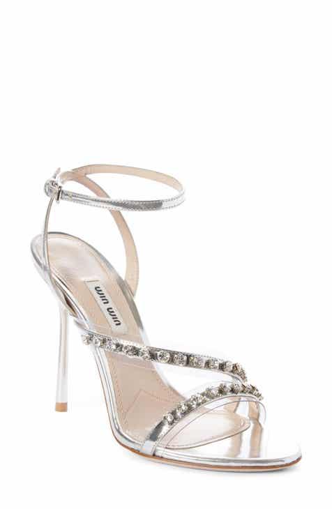 Miu Miu Jewel Strap Sandal (Women) aa61d57937