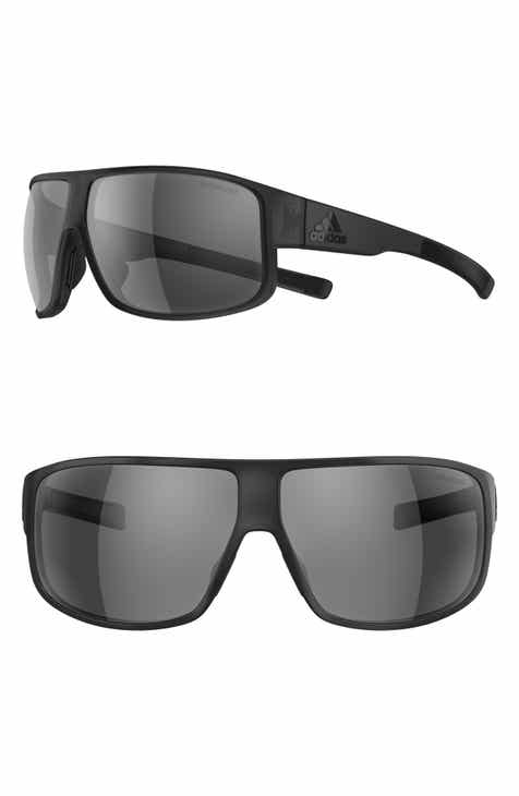 41973fc657 adidas Horizor 67mm Polarized Wraparound Sport Sunglasses