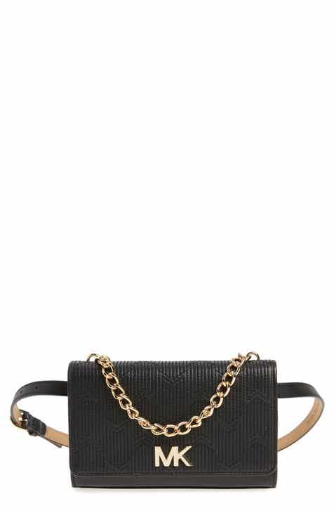 c9a9f11088 MICHAEL Michael Kors Deco M Quilted Leather Belt Bag