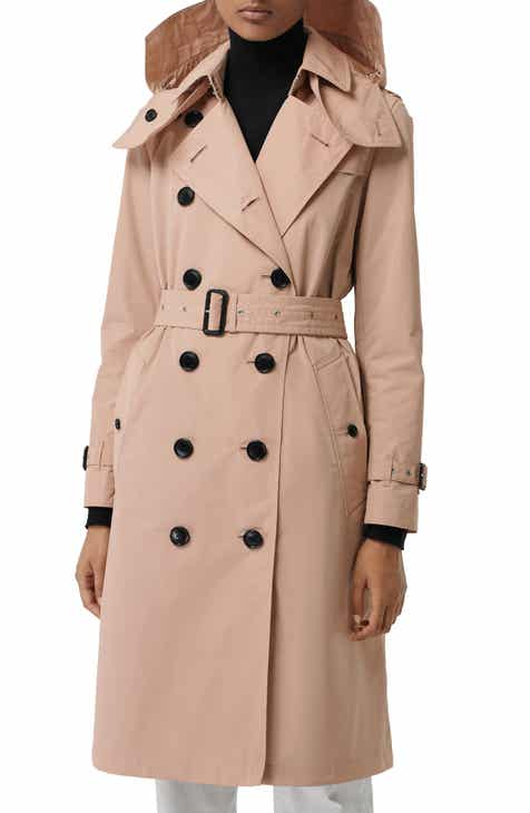 Burberry Kensington Hooded Trench Coat 78cce7cbde