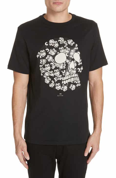 595096b473d66 PS Paul Smith Monkey Skull Graphic T-Shirt