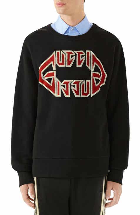 838b3749500 Gucci Metal Print Sweatshirt