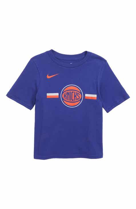 Nike New York Knicks Dri-FIT T-Shirt (Little Boys)