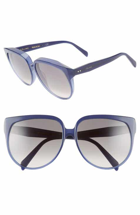 79973f934880b CELINE 62mm Special Fit Oversize Cat Eye Sunglasses