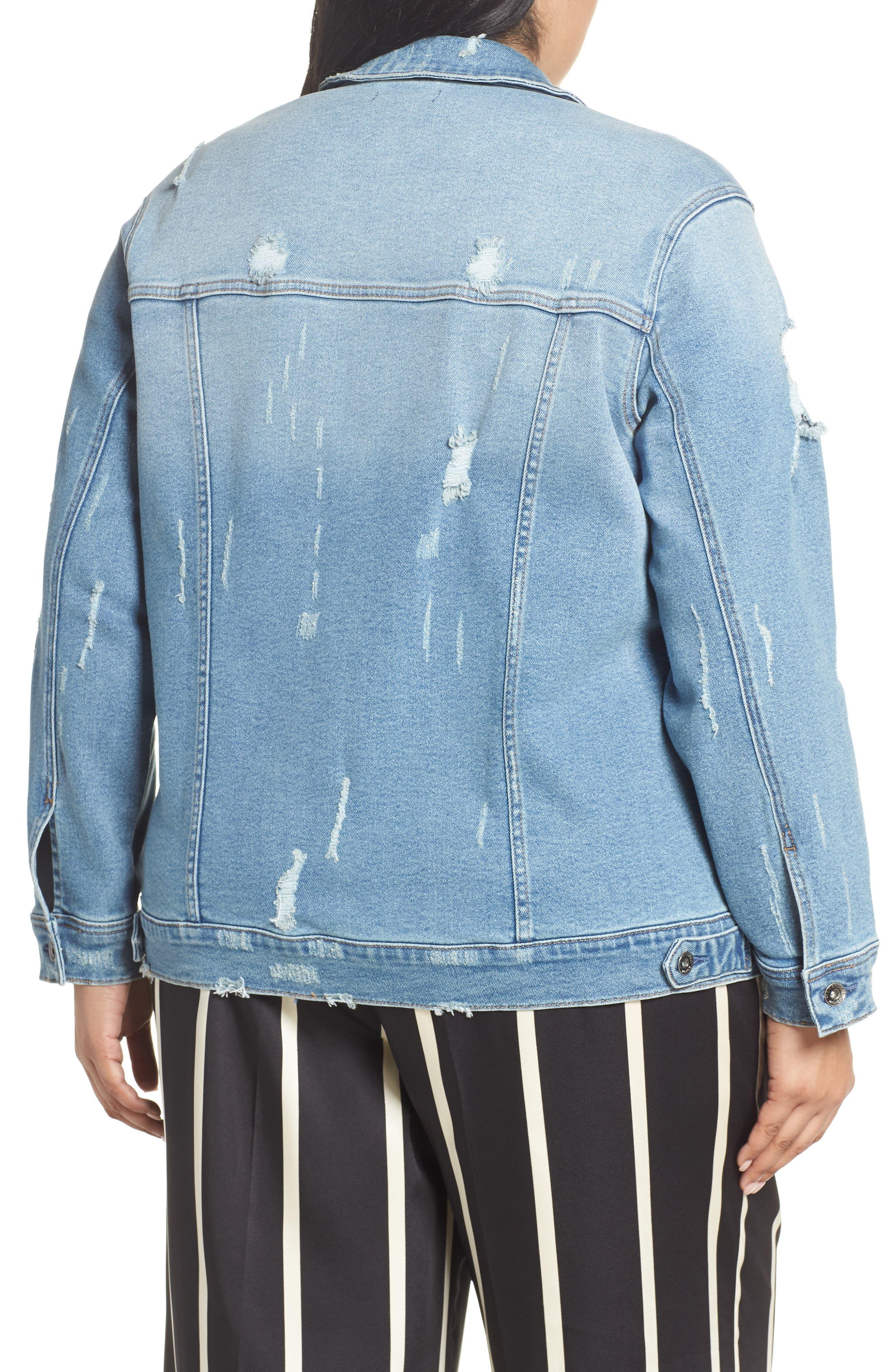 1834b65da6cde Women s MAXSTUDIO Indigo Plus-Size Coats   Jackets