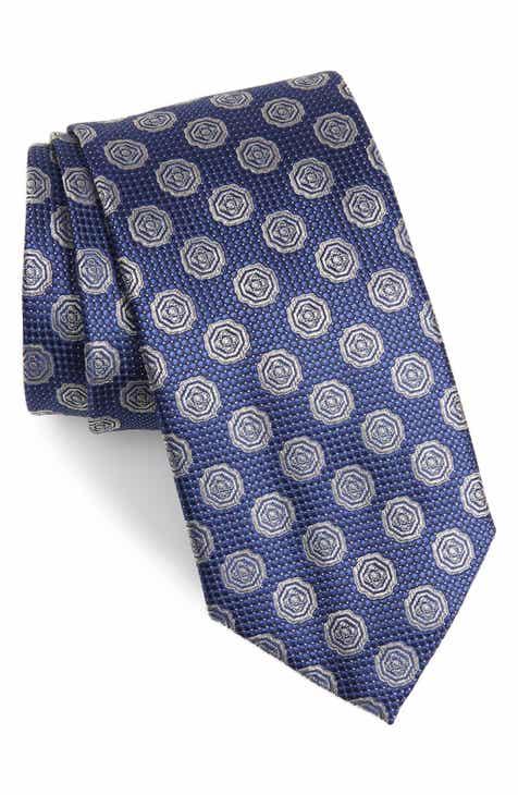73eec568b3b Canali Medallion Silk Tie