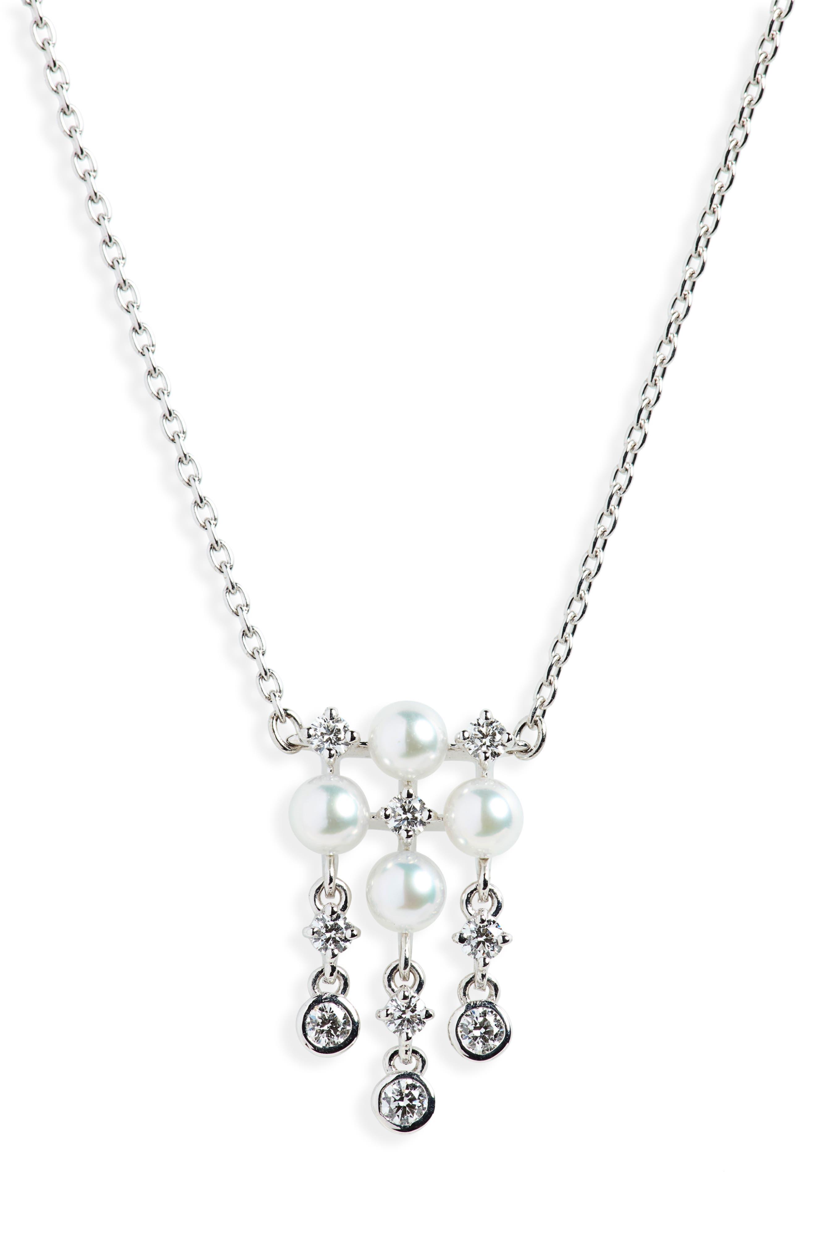 Womens Mikimoto Jewelry