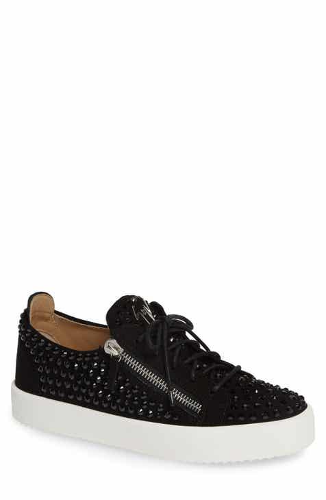 Giuseppe Zanotti Crystal Low Top Sneaker (Men)