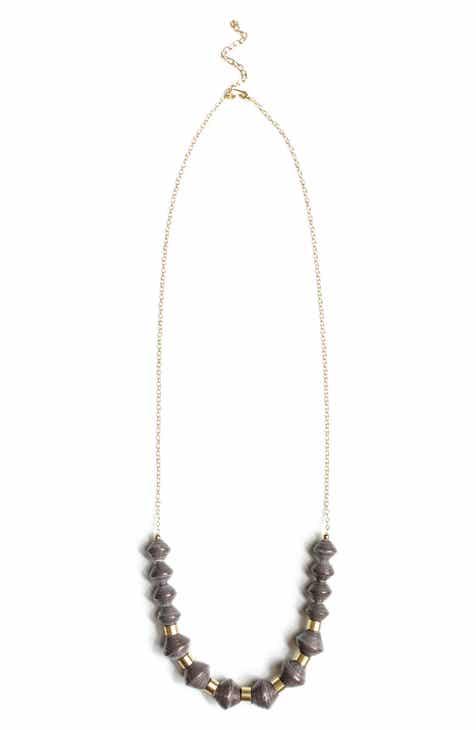 31 Bits Millie Paper Bead Necklace