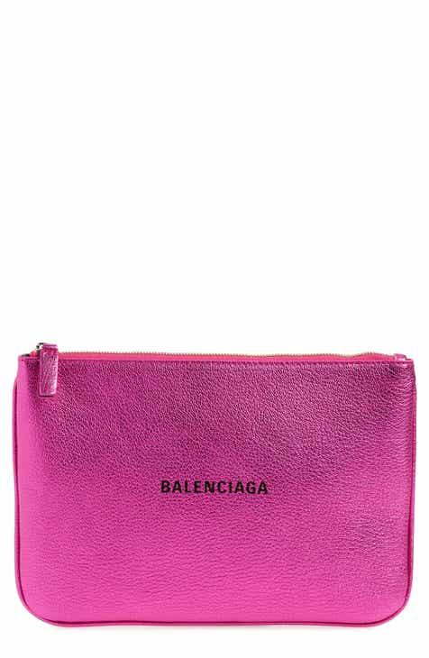 6345762c1c4a Balenciaga Everyday Leather Pouch