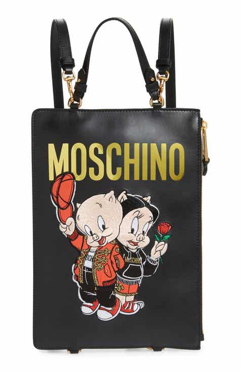 Moschino Porky Pig Convertible Backpack f53c39955fd8b