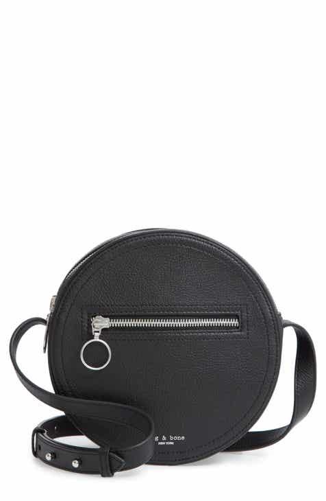 757007d572d0 rag   bone Circle Leather Crossbody Bag