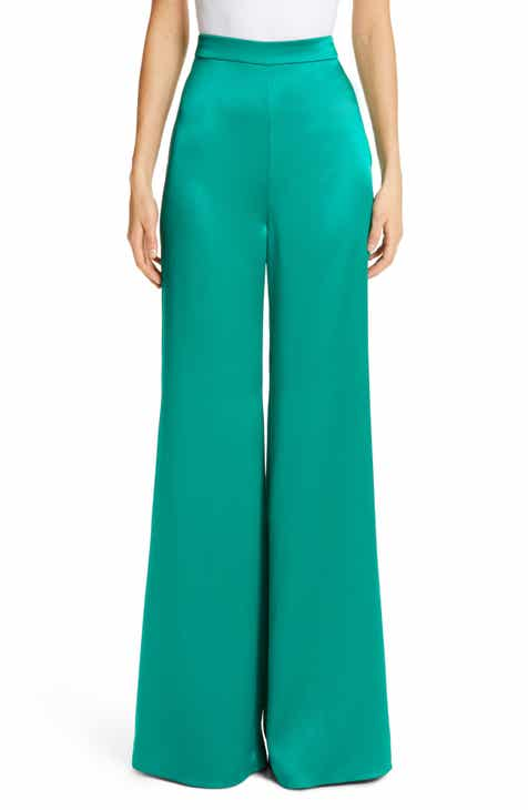 Standard & Practices Libby High Rise Velvet Pants (Plus Size) by Standards & Practices