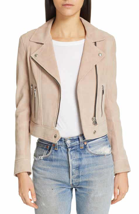 e42b00343648 IRO Dembey Leather Moto Jacket