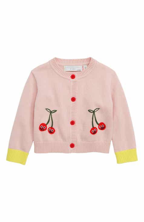 3ba7b6da30e Stella McCartney Kids Cherry Organic Cotton Cardigan (Baby)