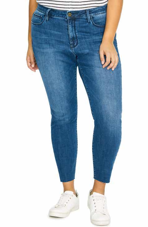 13ad66cea83 Sanctuary Skinny Ankle Jeans (Elsnor Blue) (Plus Size)