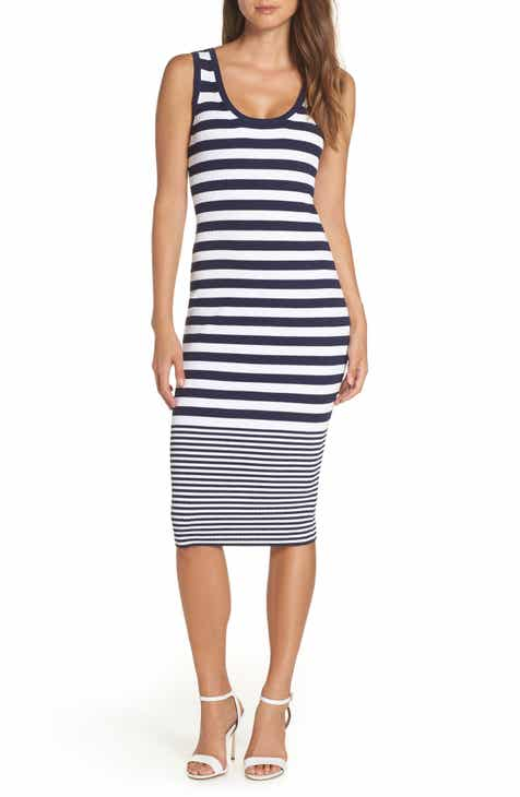 ab8ac4c7dd MICHAEL Michael Kors Mixed Stripe Rib Sweater Dress