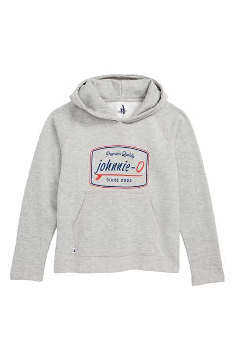 johnnie-O Moore Hooded Sweatshirt (Big Boys)
