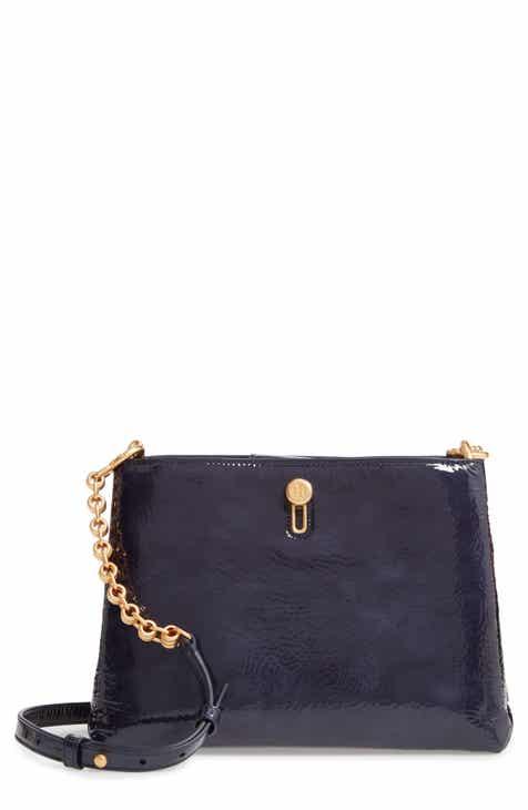 3346b8b503d2 Tory Burch Lily Patent Crossbody Bag