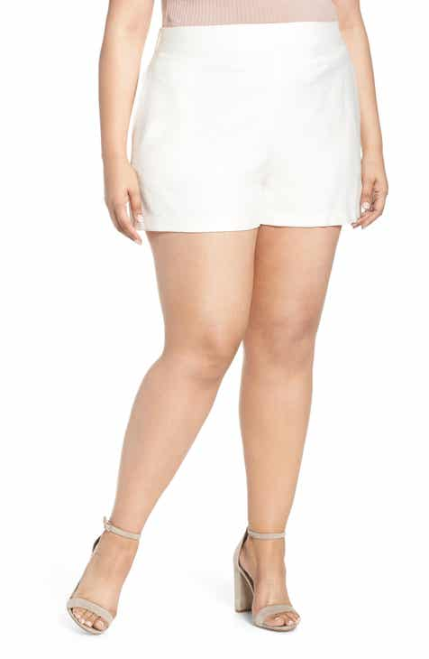 Leith High Waist Shorts (Plus Size) by LEITH