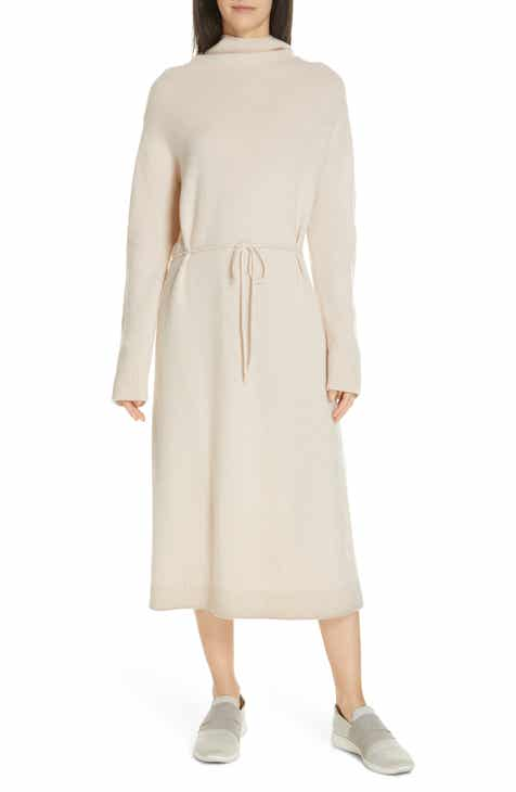 a3e557f9079 Vince Funnel Neck Wool   Cashmere Sweater Dress