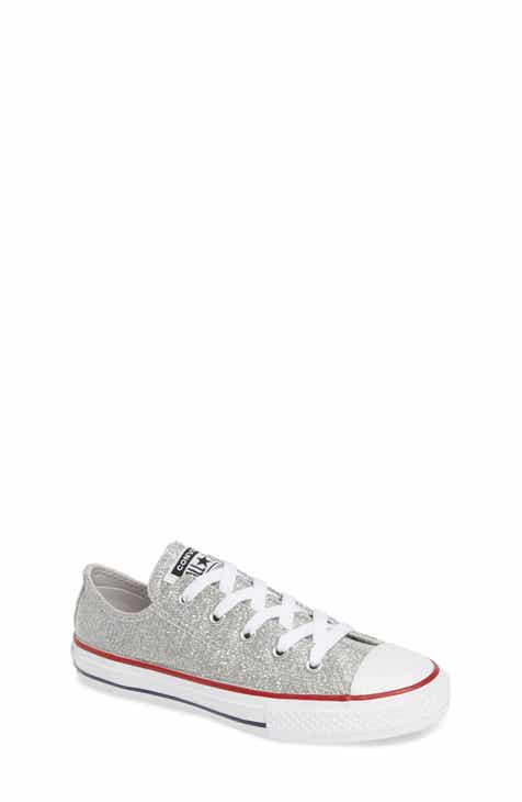 Converse All Star® Seasonal Glitter OX Low Top Sneaker (Toddler 252bc3baf