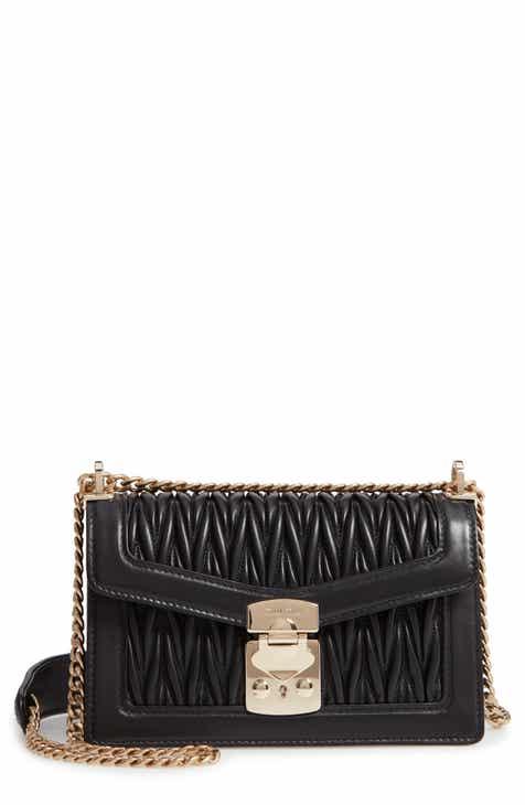 8d0aa3465c05 Miu Miu Matelassé Leather Crossbody Bag
