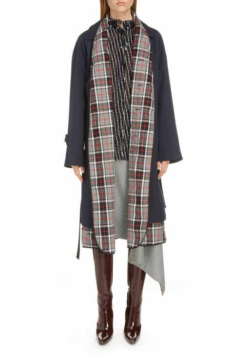 Balenciaga Layered Trench Coat by BALENCIAGA
