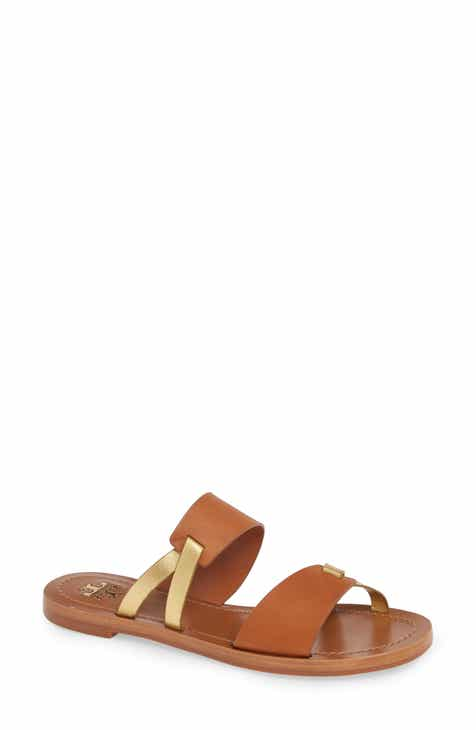 a3c27ef07dcba Tory Burch Ravello Double Band Slide Sandal (Women)