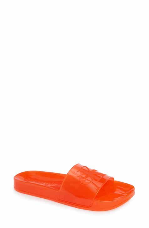 4377a003f77d Calvin Klein Jeans Elva Translucent Sport Slide (Women)