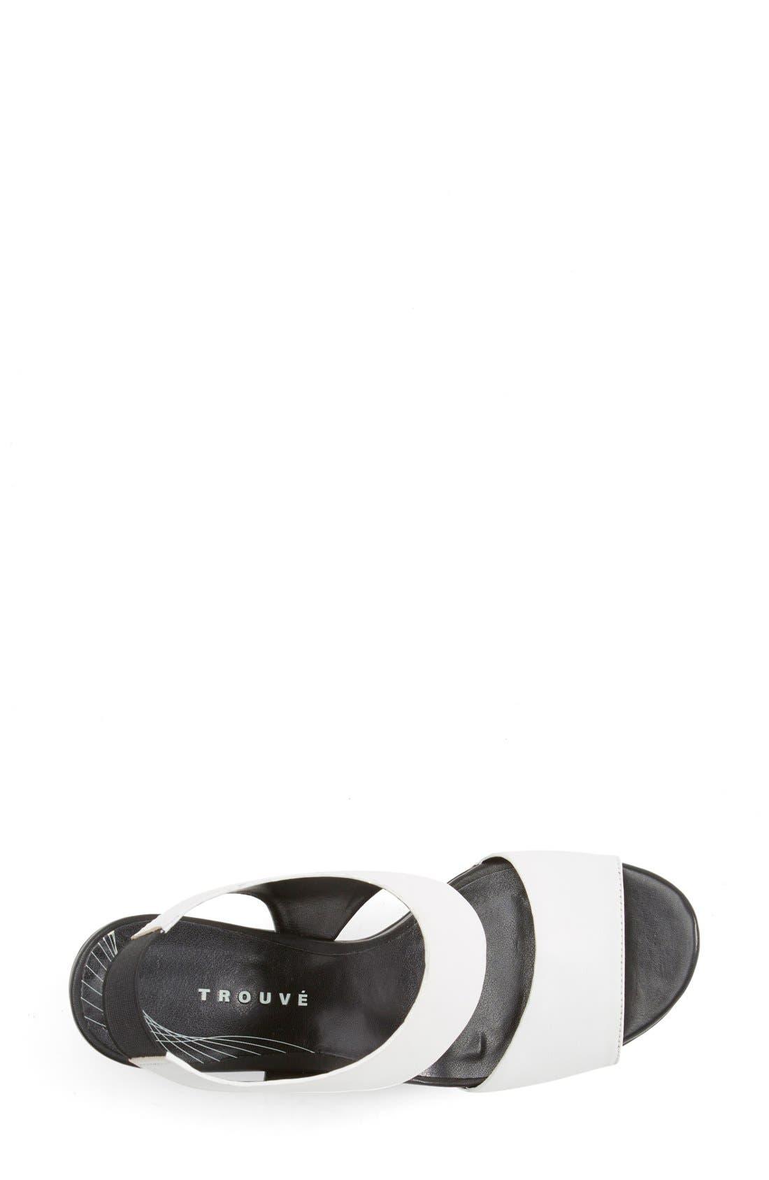 Alternate Image 3  - Trouvé 'Morgan' Platform Wedge Leather Sandal (Women)