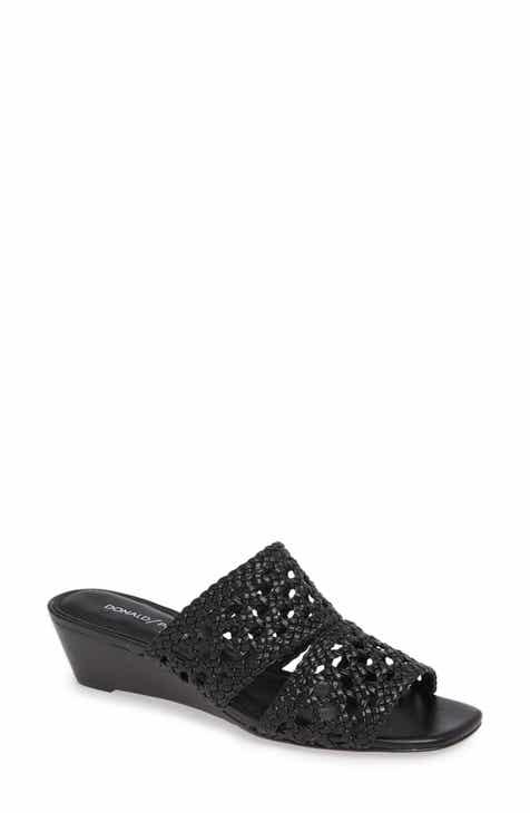 4463073df4e2 Donald Pliner Albi Woven Slide Sandal (Women)