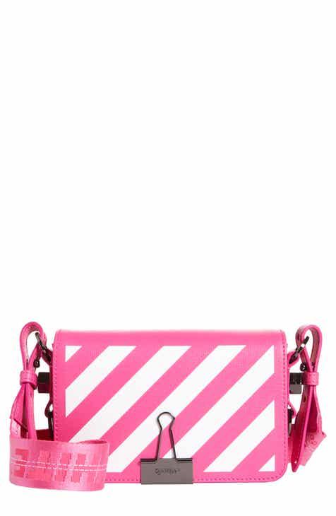 6e10a2cafea6 Off-White Diagonal Stripe Mini Flap Bag