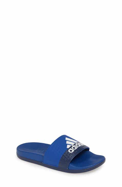 huge selection of d6366 2334e adidas Adilette Slide Sandal (Toddler, Little Kid   Big Kid)