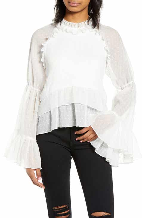 cabb17b3676d3 Endless Rose Bell Sleeve Top