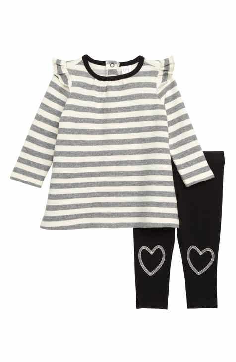 0737fe3ce947 Nordstrom Baby Stripe Dress   Leggings Set (Baby)