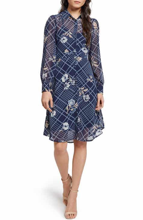 ModCloth Floral Plaid Shirtdress (Regular   Plus Size) eee6c5e9a