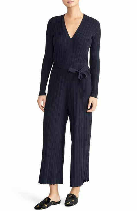 32c03c64559 Rachel Roy Collection Long Sleeve Ribbed Jumpsuit