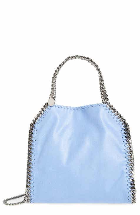 Stella McCartney  Mini Falabella - Shaggy Deer  Faux Leather Tote be3b279465502