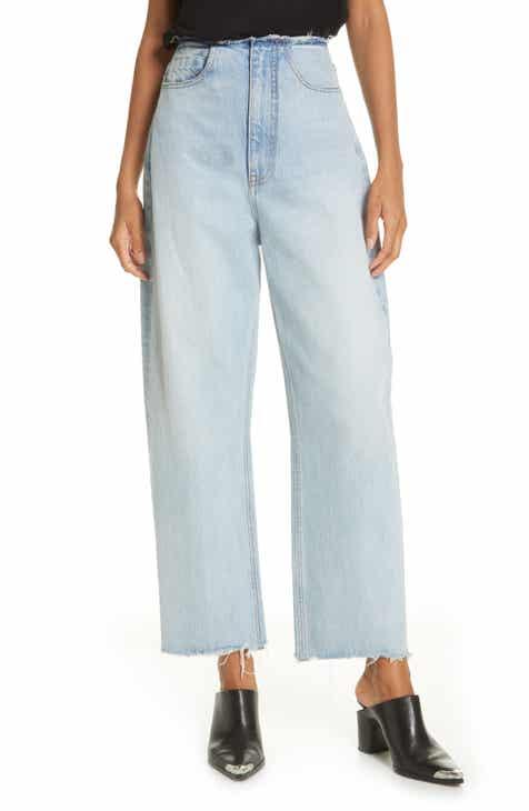 76d8f24fef8 Denim x Alexander Wang Split Wide Leg Jeans (Bleach)