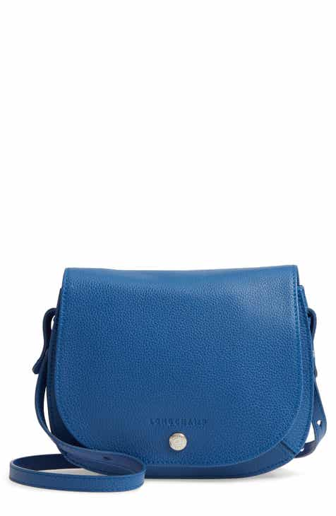 Longchamp Small Le Foulonne Leather Crossbody Bag 1e313da5f6302