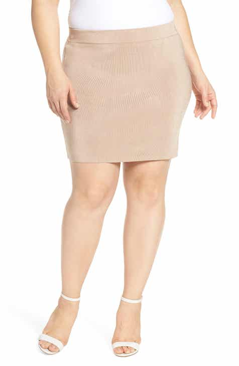 Leith Sweater Miniskirt (Plus Size) by LEITH