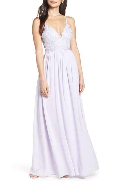 bf74a56959 Lulus Back Tie Chiffon Evening Dress