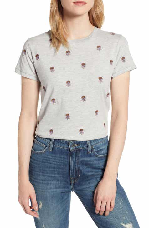 7989e599bb5 Lucky Brand Embroidered Tee