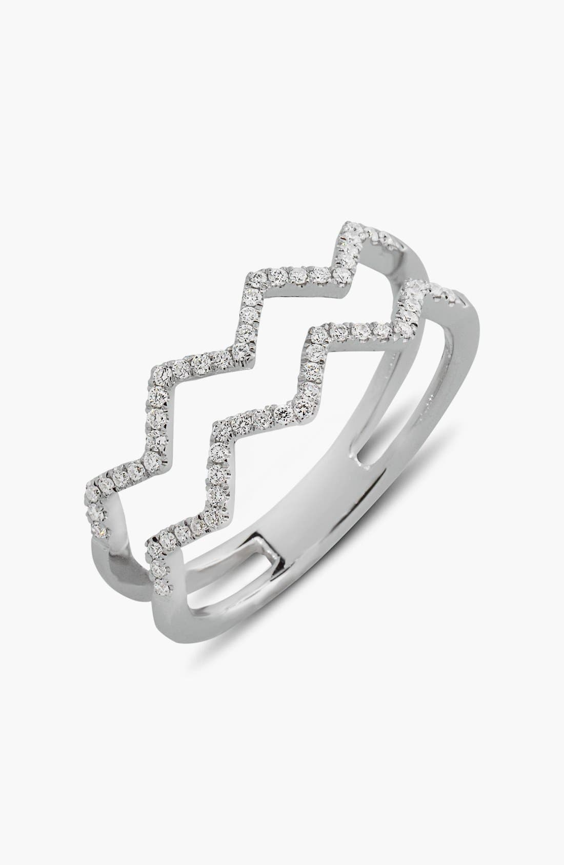 Bony Levy 'Prism' 2-Row Diamond Ring (Limited Edition) (Nordstrom Exclusive)